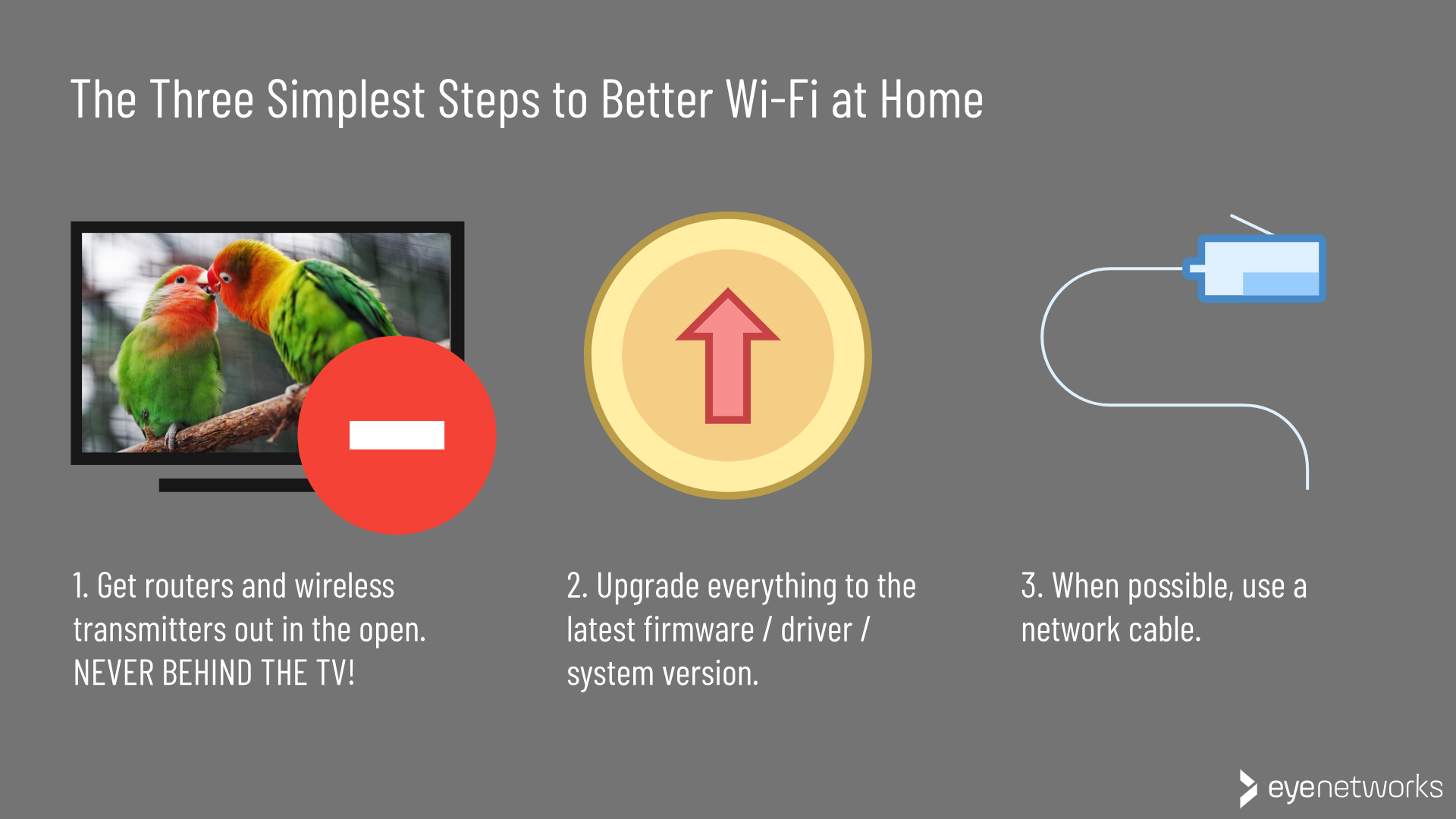 Better Wi-Fi: The three simplest, most vital steps to take without leaving the house