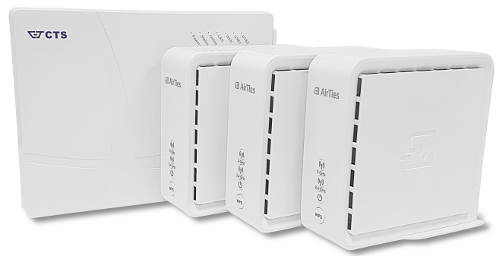 The CTS FRG fiber gateway without Wi-Fi is the perfect companion for a home pack