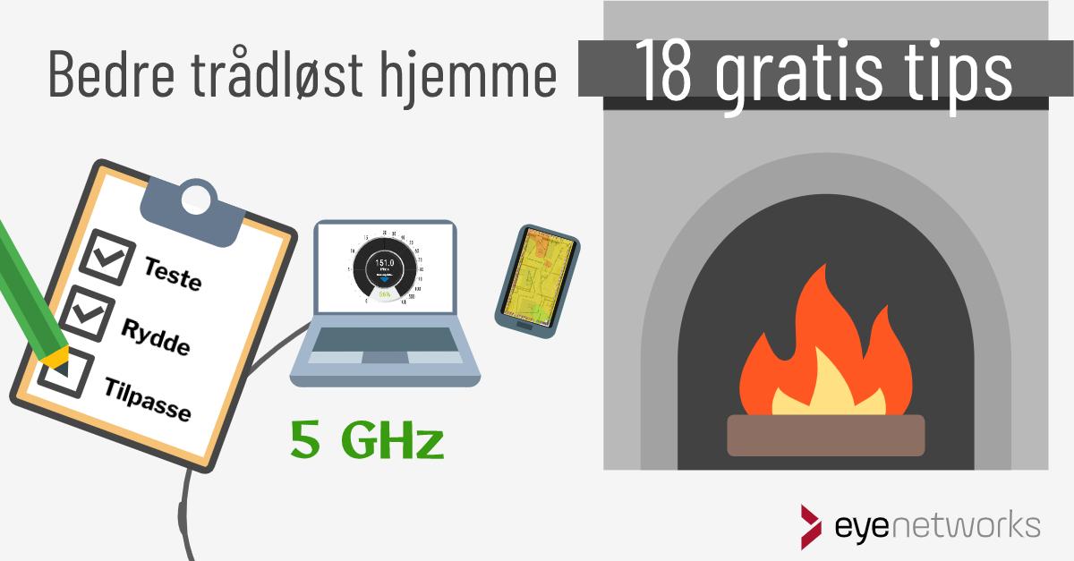 Bedre wifi hjemme: 18 gratis tips