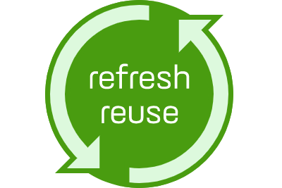 refresh/reuse: Eye Networks refurbishment services