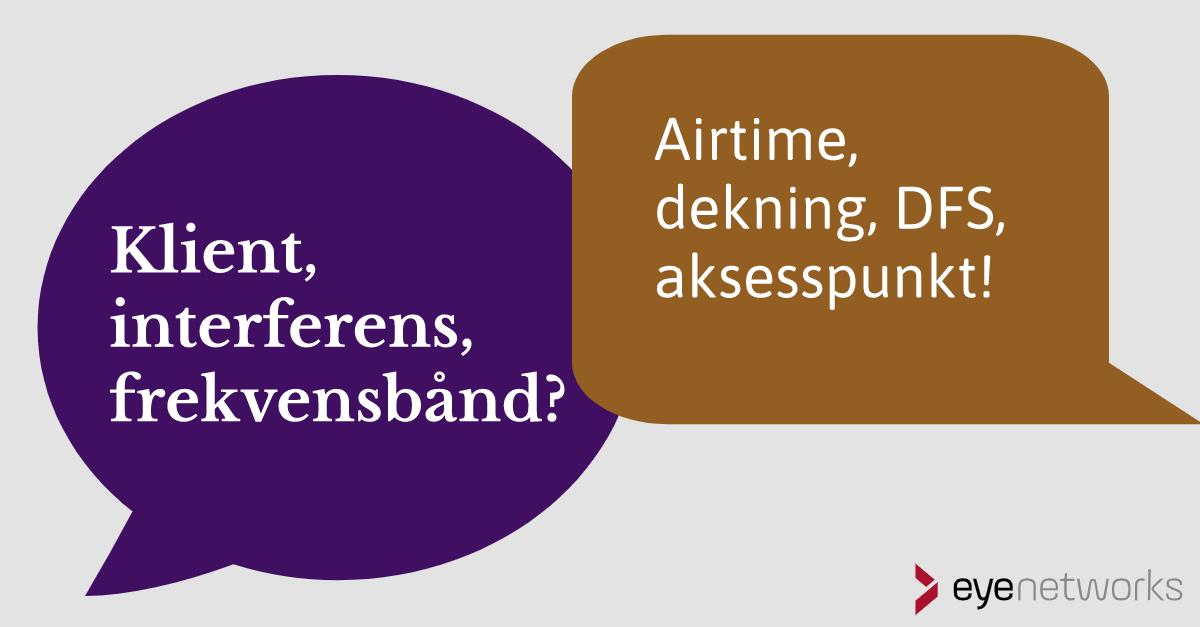 Wifi-ordliste: Trådløse ord og begreper
